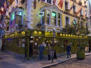 The Oliver St. John Gogarty Pub, Temple Bar, Dublin, County Dublin, Republic of Ireland (Eire) by Sergio Pitamitz