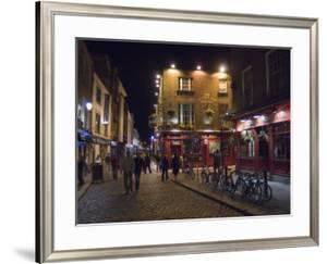 The Temple Bar Pub, Temple Bar, Dublin, County Dublin, Republic of Ireland (Eire) by Sergio Pitamitz