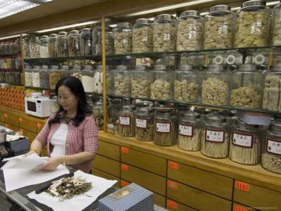 Traditional Chinese Medicine, Sheung Wan District, Hong Kong, China
