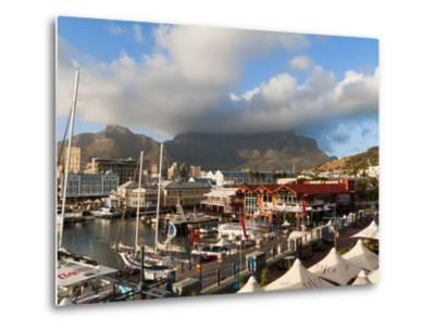 V & a Waterfront With Table Mountain in Background, Cape Town, South Africa, Africa
