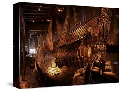 Vasa, a 17Th Century Warship, Vasa Museum, Stockholm, Sweden, Scandinavia, Europe