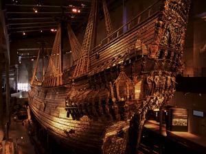 Vasa, a 17Th Century Warship, Vasa Museum, Stockholm, Sweden, Scandinavia, Europe by Sergio Pitamitz