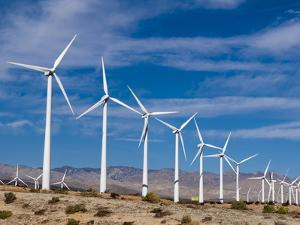 Wind Farm, Palm Springs, California, United States of America, North America by Sergio Pitamitz