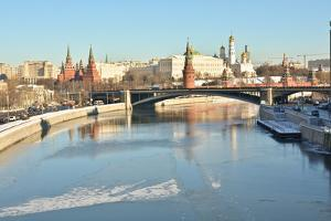 The Moscow Kremlin is A Unesco World Cultural Heritage by sergunt
