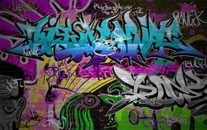 Graffiti Wall Urban Art by SergWSQ