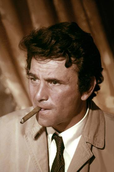 Serie televisee Columbo with Peter Falk (inspecteur Columbo), 1971-2003 (photo)--Photo