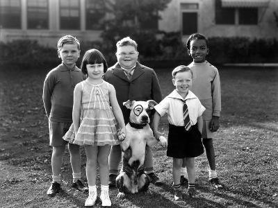 Serie Televisee Les Petites Canailles Little Rascals, C. 1930--Photo