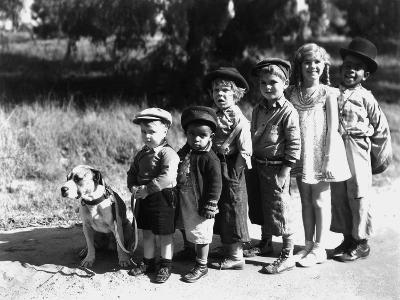 Serie Televisee Les Petites Canailles the Little Rascals, 1933--Photo