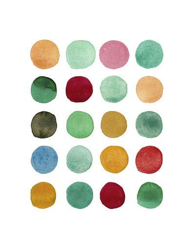 Series Colored Dots No. I-Louise van Terheijden-Art Print