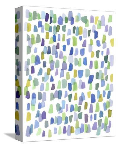 Series Rain No. I-Louise van Terheijden-Stretched Canvas Print