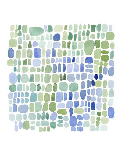Series Sea Glass No. II-Louise van Terheijden-Art Print
