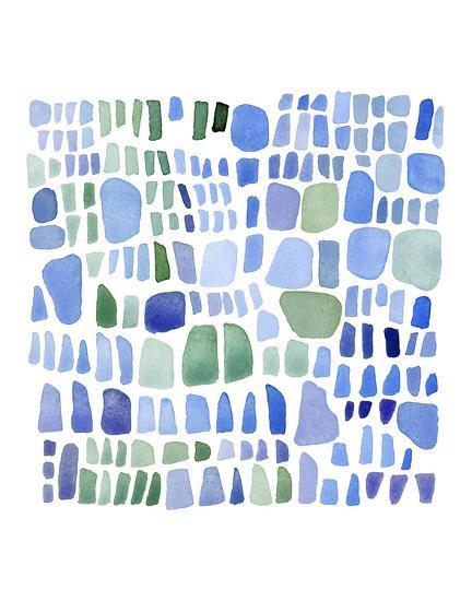 Series Sea Glass No. IV-Louise van Terheijden-Art Print