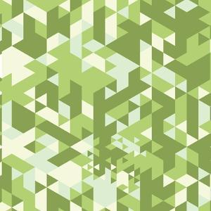 Triangle Retro Background by sermax55