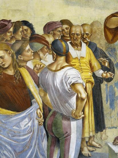 Sermon and Deeds of Antichrist, from Last Judgment Fresco Cycle, 1499-1504-Luca Signorelli-Giclee Print