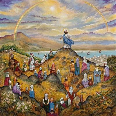 Sermon on Mount-Bill Bell-Giclee Print