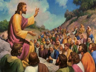 Sermon on the Mount, 1965--Giclee Print