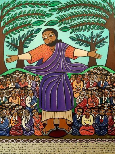 Sermon On The Mount, 2010-Laura James-Giclee Print
