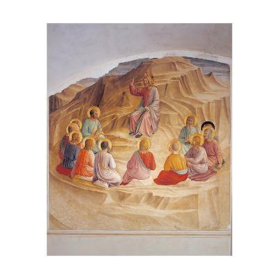 Sermon on the Mount-Beato Angelico-Art Print