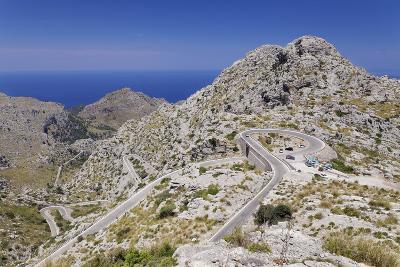 Serpentine Road to the Bay Cala De Sa Calobra-Markus Lange-Photographic Print