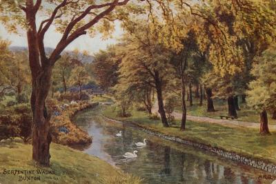 Serpentine Walks, Buxton-Alfred Robert Quinton-Giclee Print