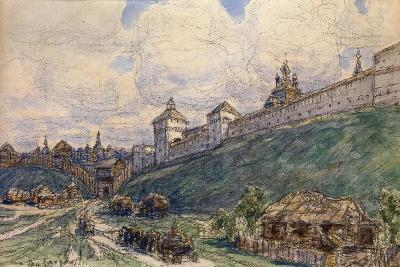 Serpukhov in the 17th Century-Appolinari Mikhaylovich Vasnetsov-Giclee Print