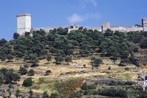 Serravalle or Malaspina Castle, 12th-13th Century, Bosa, Sardinia, Italy