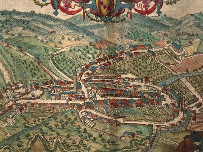 Serravalle Scrivia from Civitates Orbis Terrarum--Giclee Print