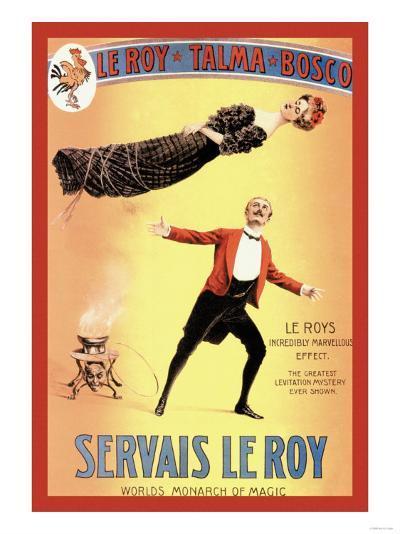 Servais Leroy: World's Monarch of Magic--Art Print