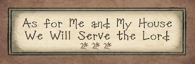 Serve the Lord-Jo Moulton-Art Print