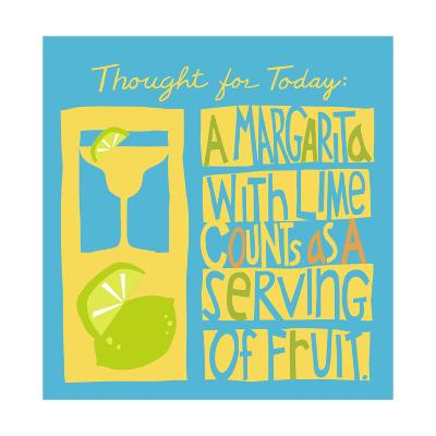 Serving of Fruit--Art Print