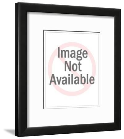 """""""Serving three sentences concurrently gives one a real sense of accomplish?"""" - New Yorker Cartoon-Leo Cullum-Framed Premium Giclee Print"""