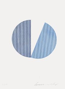 Deux bleus by Servulo Esmeraldo