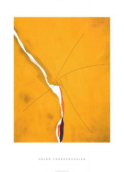 Sesame, c.1970-Helen Frankenthaler-Serigraph