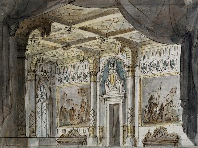 Set Design by Francesco Bagnara for Otello, Opera by Giuseppe Verdi--Giclee Print