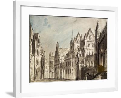 Set Design by Peter Bertoja--Framed Giclee Print