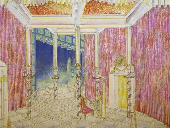 Set Design for Jacobin, Opus 84-Antonin Leopold Dvorak-Giclee Print