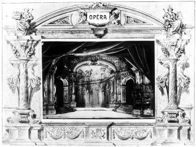 Set Design for Mozart's Don Giovanni, 1875--Giclee Print