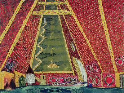 "Set Design for ""Thamar,"" 1912-Leon Bakst-Giclee Print"