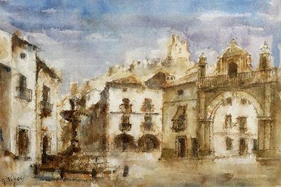 Set Design for 'The Barber of Seville'--Giclee Print