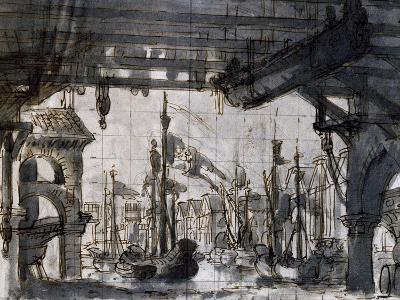 Set Design-Pietro Bertoja-Giclee Print