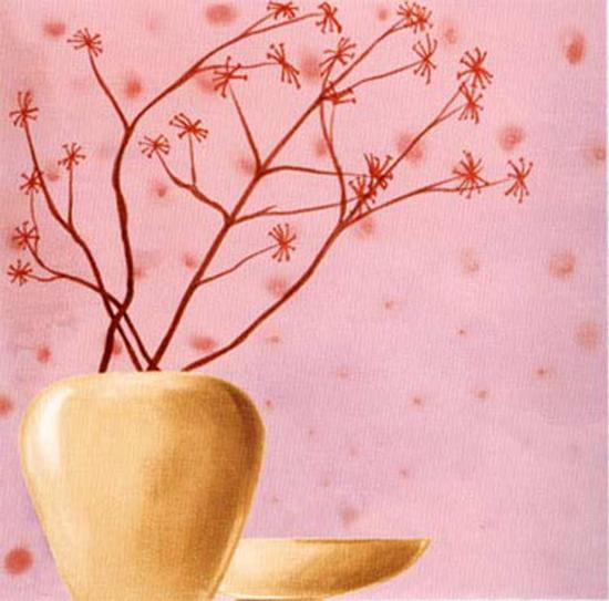 Set in Pink II-Lenoir-Art Print