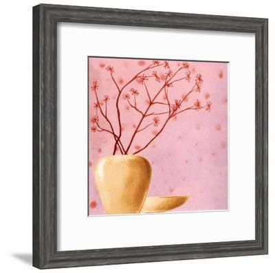 Set in Pink II-Lenoir-Framed Art Print