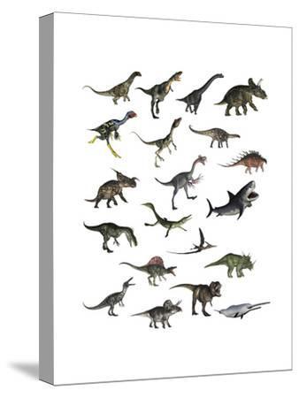 Set of Dinosaurs