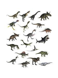 Set of Dinosaurs