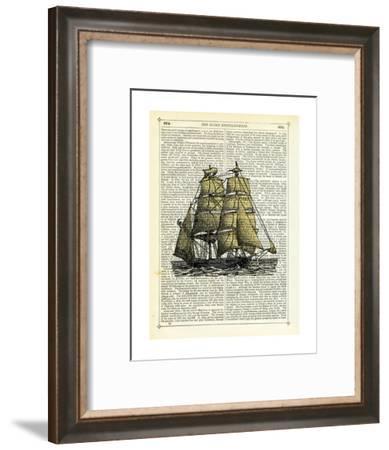 Set Sail-Marion Mcconaghie-Framed Art Print