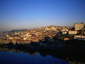Buildings on River Douro, Porto, Portugal by Setchfield Neil