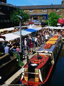 Camden Lock Market, Camden, London, United Kingdom by Setchfield Neil