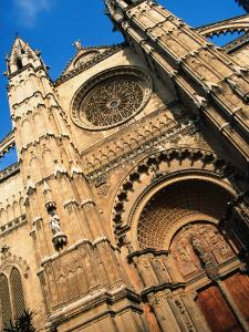 Facade of Palma Cathedral, Palma De Mallorca, Spain by Setchfield Neil