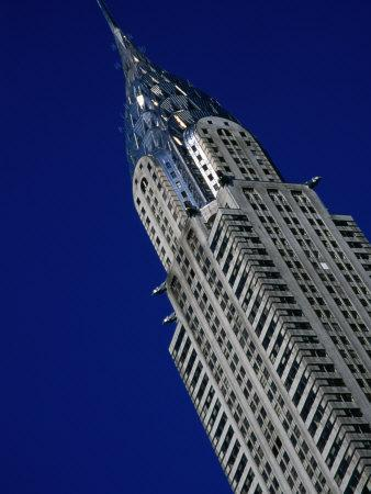 Top of Chrysler Building, New York City, USA