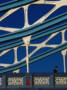 Tower Bridge's (1894) Neo-Gothic Architecture, London, England by Setchfield Neil
